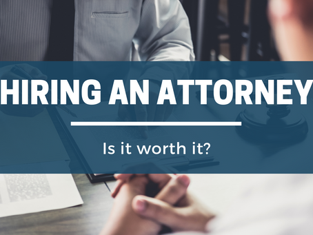 Why Should You Hire an Attorney Representative?