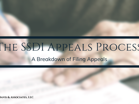 The SSD Appeals Process