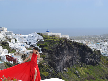 Santorini awaits!