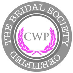 Official badge for Certified Wedding Planners of The Bridal Society