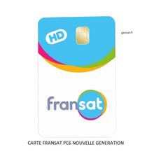 CARTE FRANSAT PC6, commandez-là sur Geosat.fr