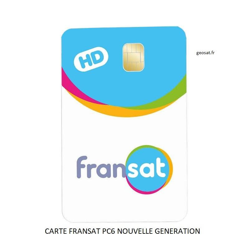 Carte HD FRANSAT PC6