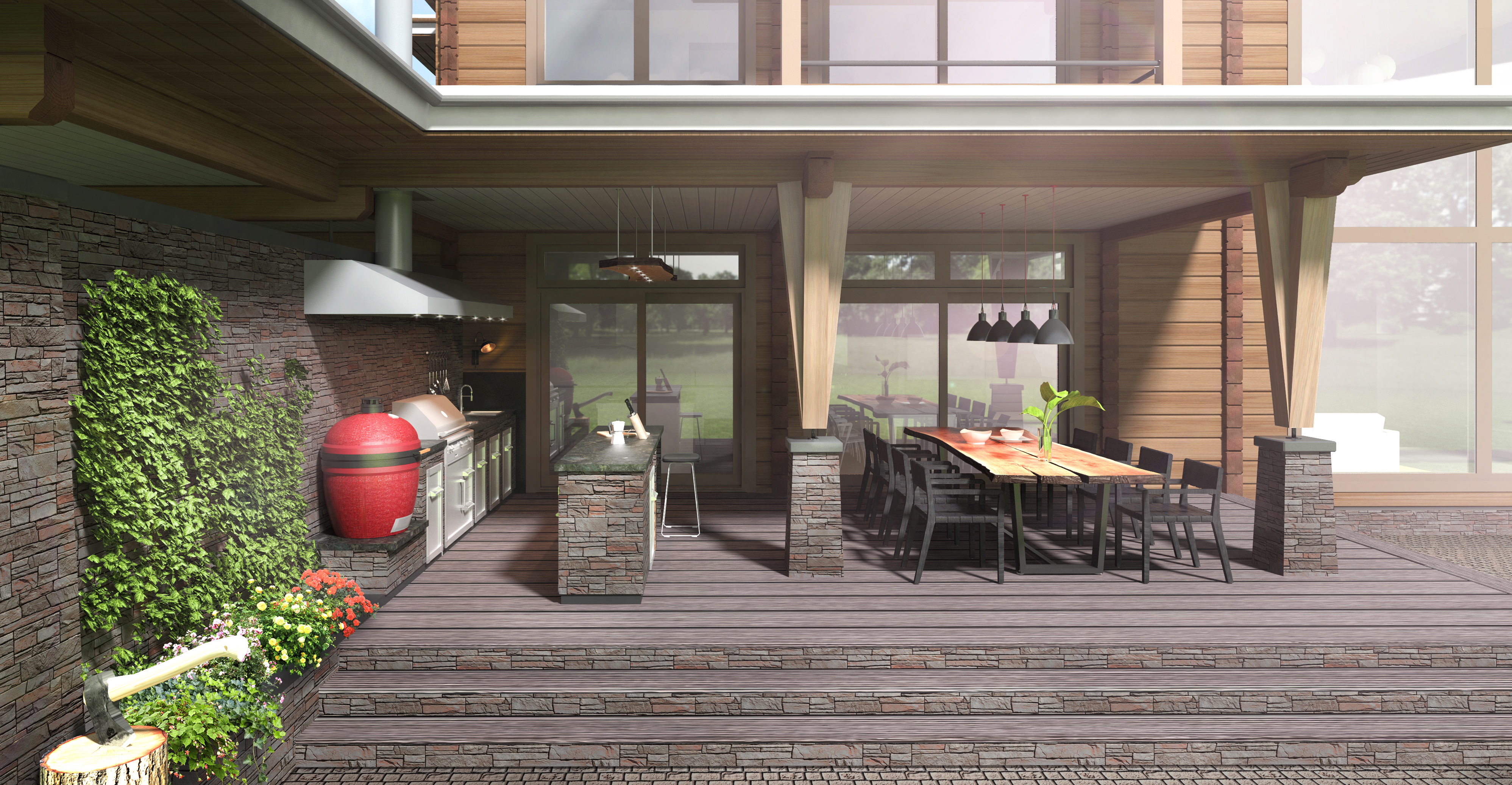 Кухня при доме_этап 3 сцена 2
