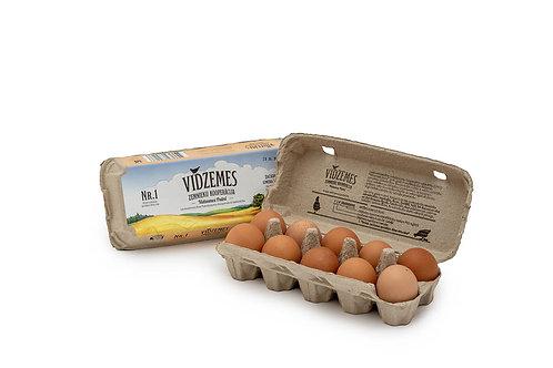 Brīvās turēšanas vistu olas ''Vidzemes Zemnieku kooperatīvs''