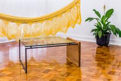 mesa curió retangular
