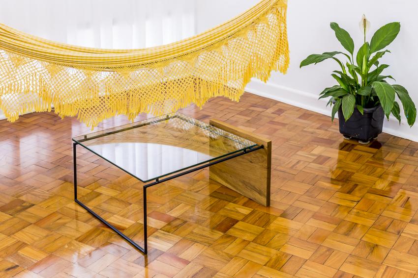 mesa curió quadrada