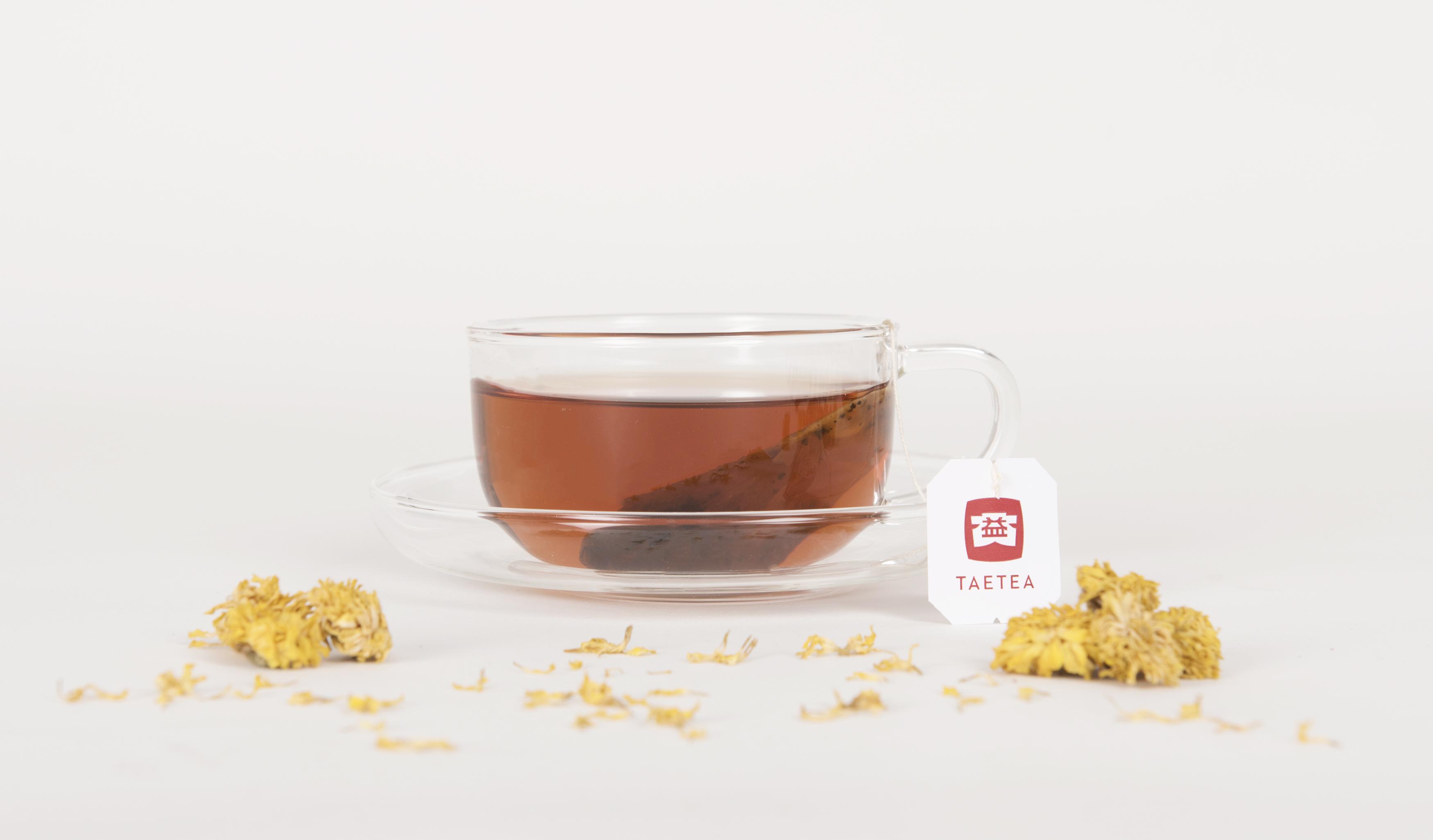 Chrysanthemum Ripe Pu'er Tea