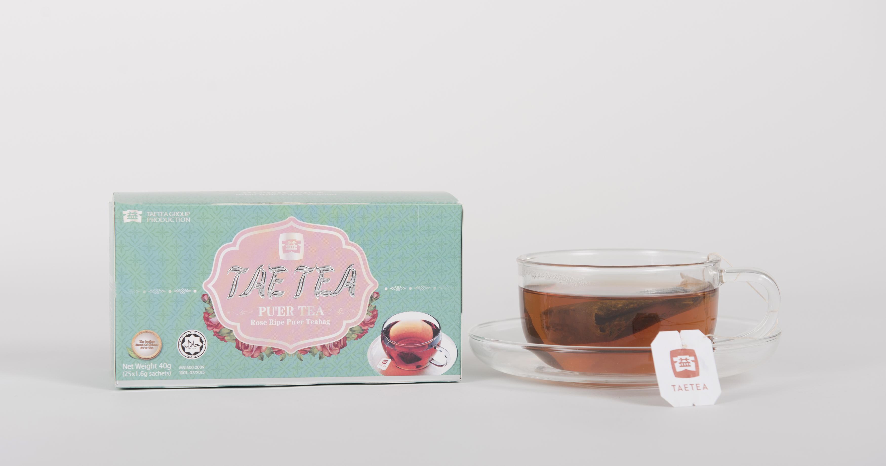 Rose Ripe Pu'er Tea