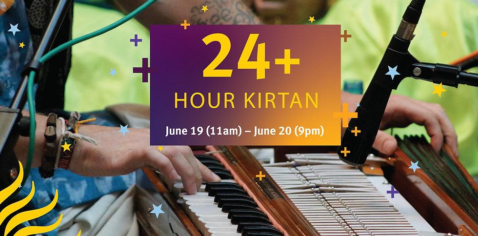 24+ hour kirtan
