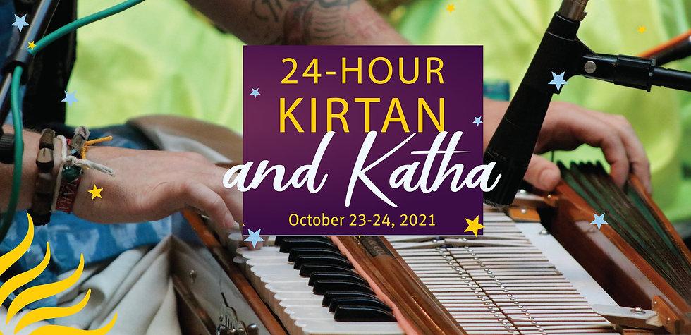 24 Hour Kirtan and Katha