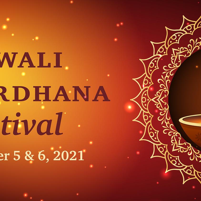 Diwali Govardhana Festival