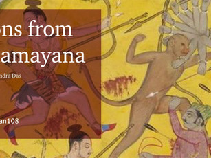 Lessons from the Ramayana