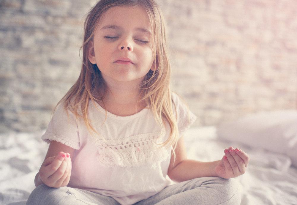 Privatlektion Kindermeditation & -yoga