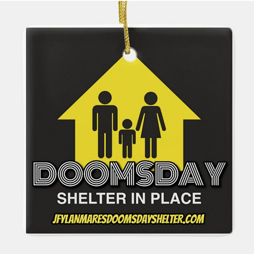 SHELTER IN PLACE 2020 HOLIDAY ORNAMENT