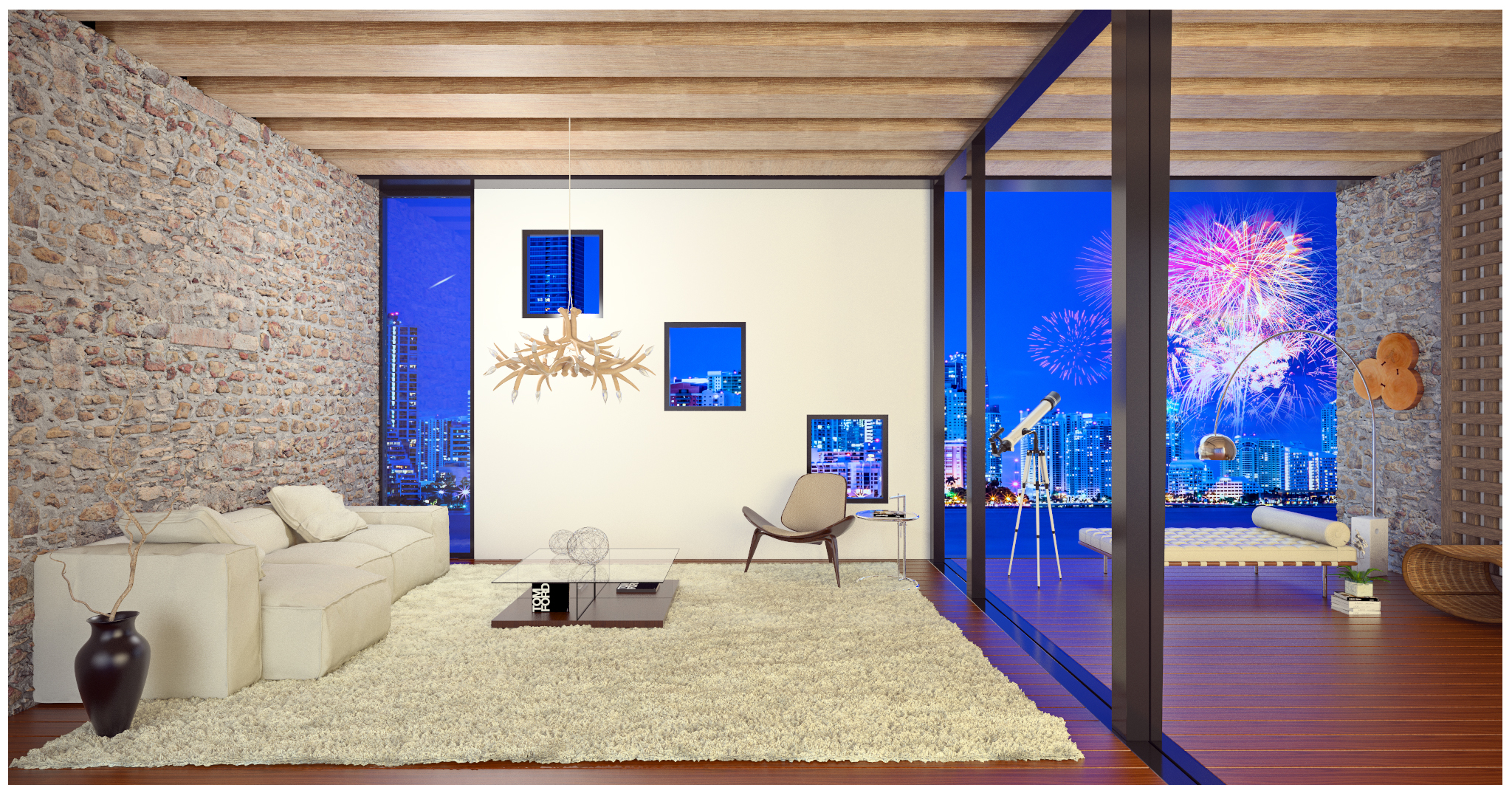 3D Renderings Miami Biscayne