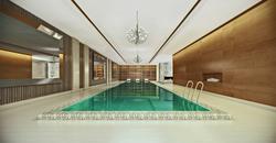Pool & Spa New York 3D Rendering