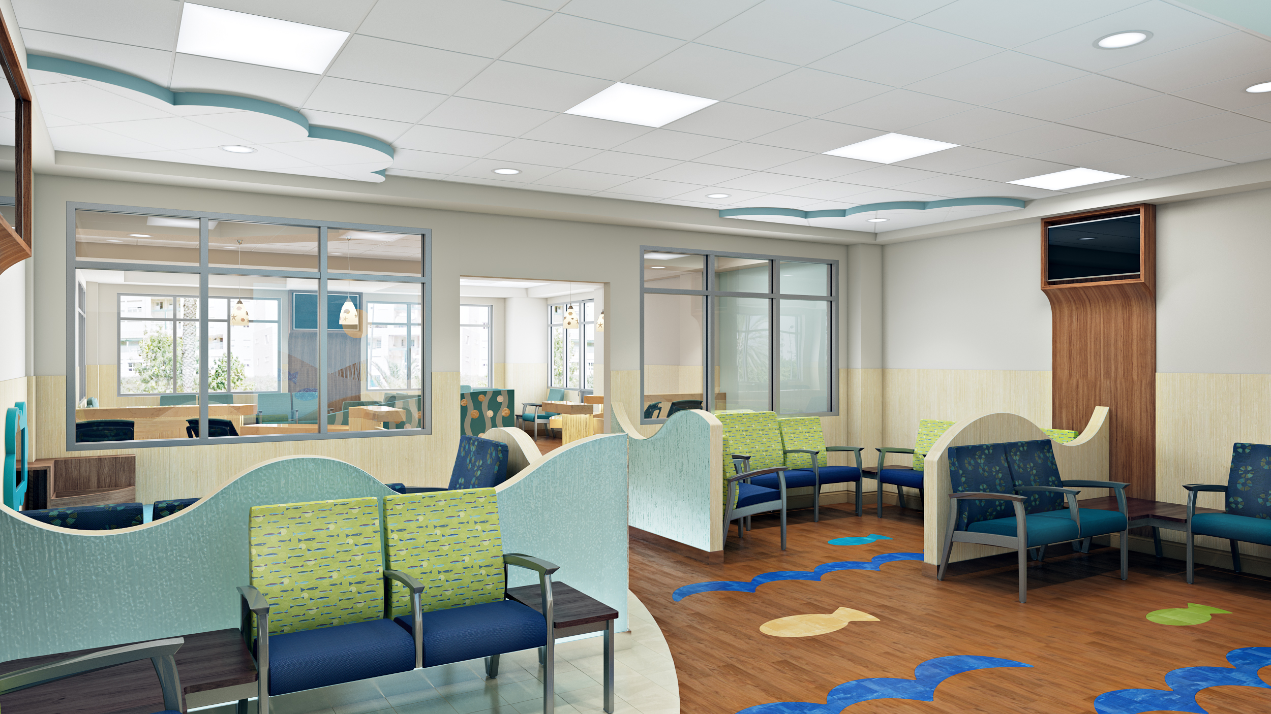 3D Rendering Miami Medical Cente
