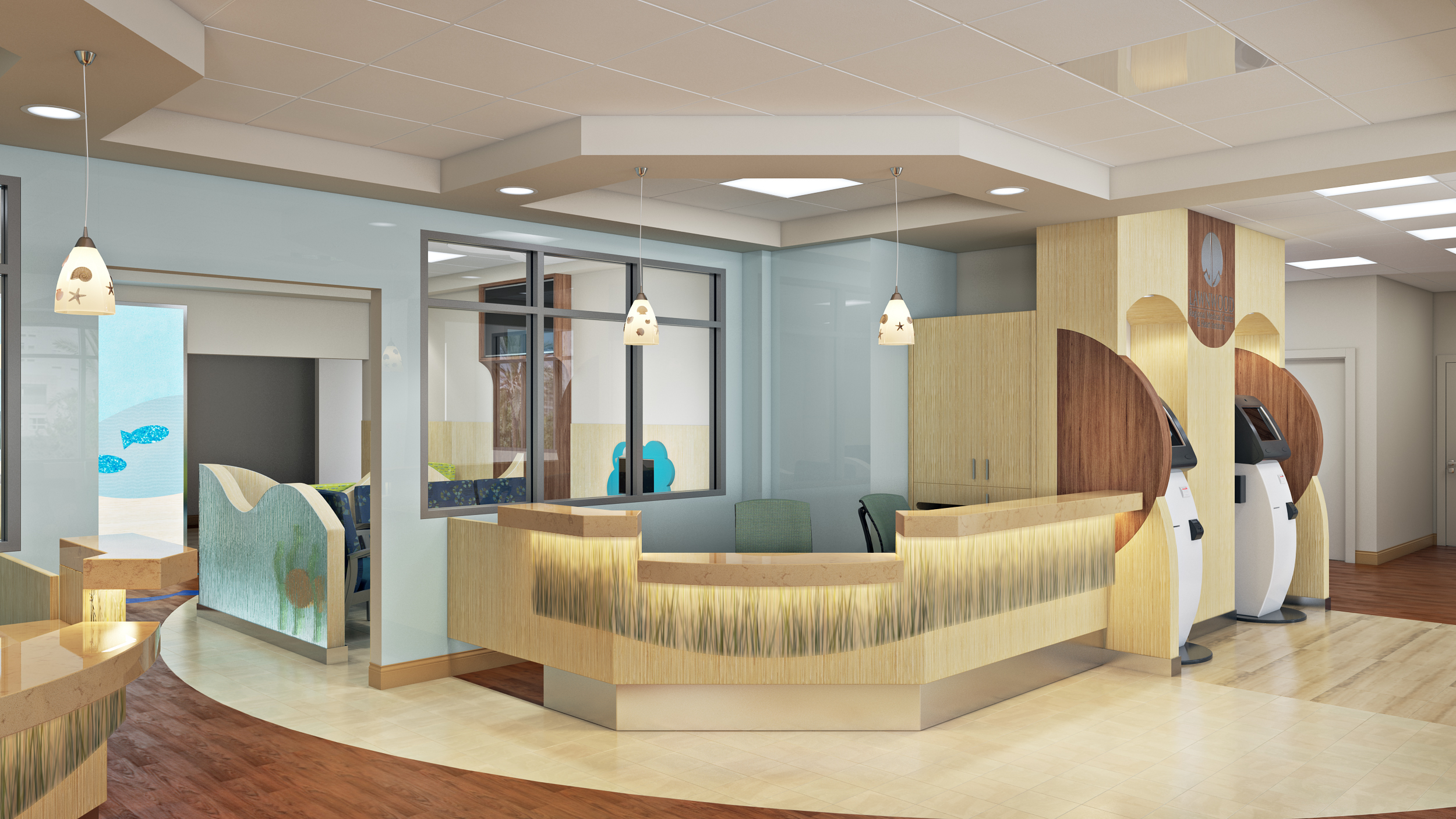 3D Rendering Miami Medical Center