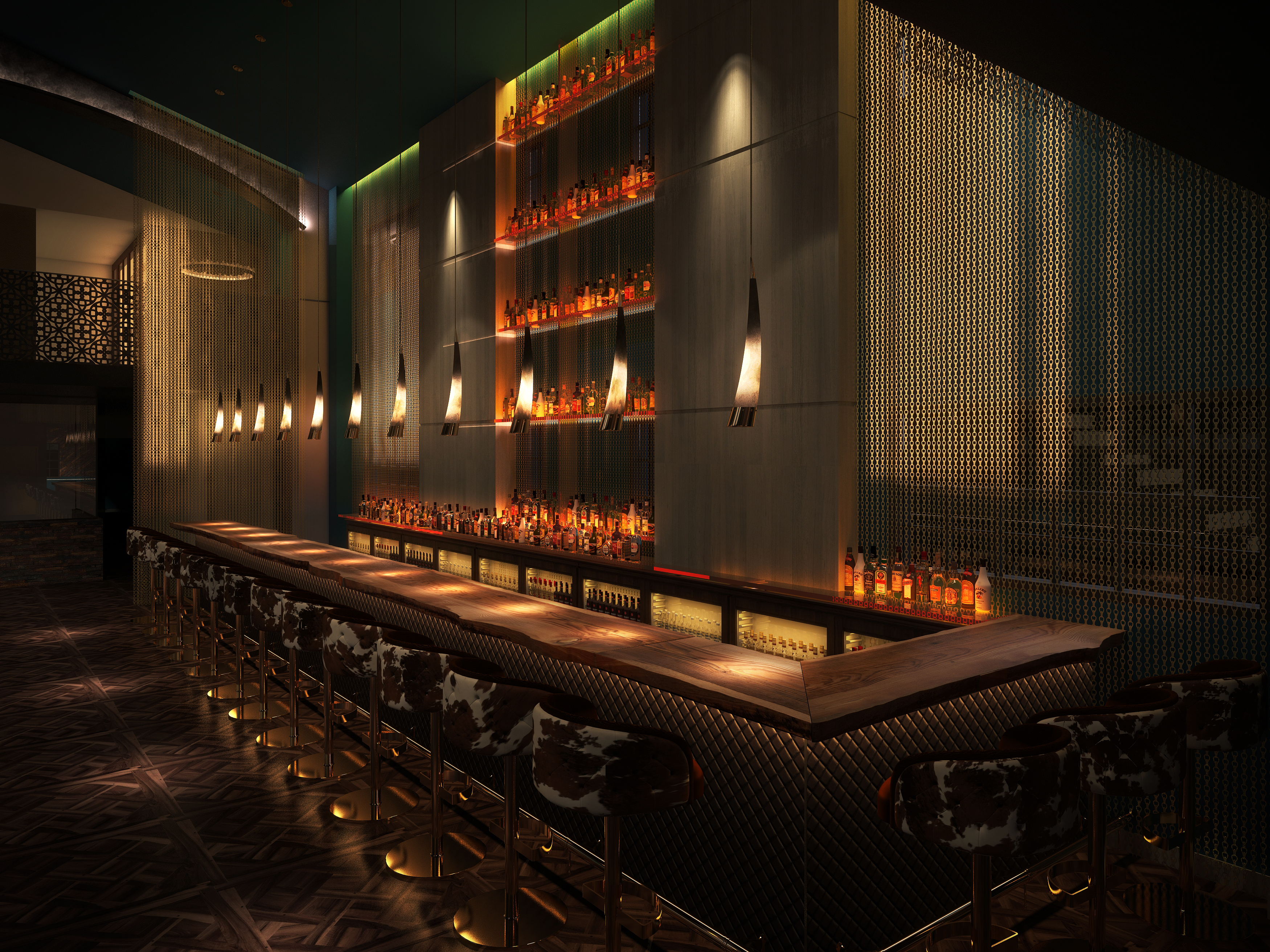 3D Renderings Miami Restaurant