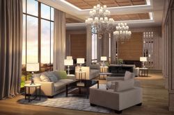 Library New York 3D Rendering
