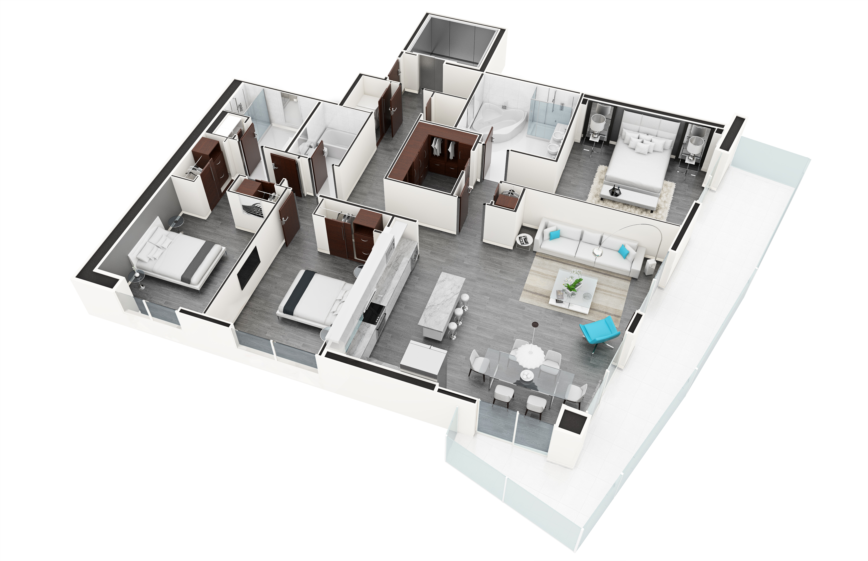 3D Renderings Miami Artefacto