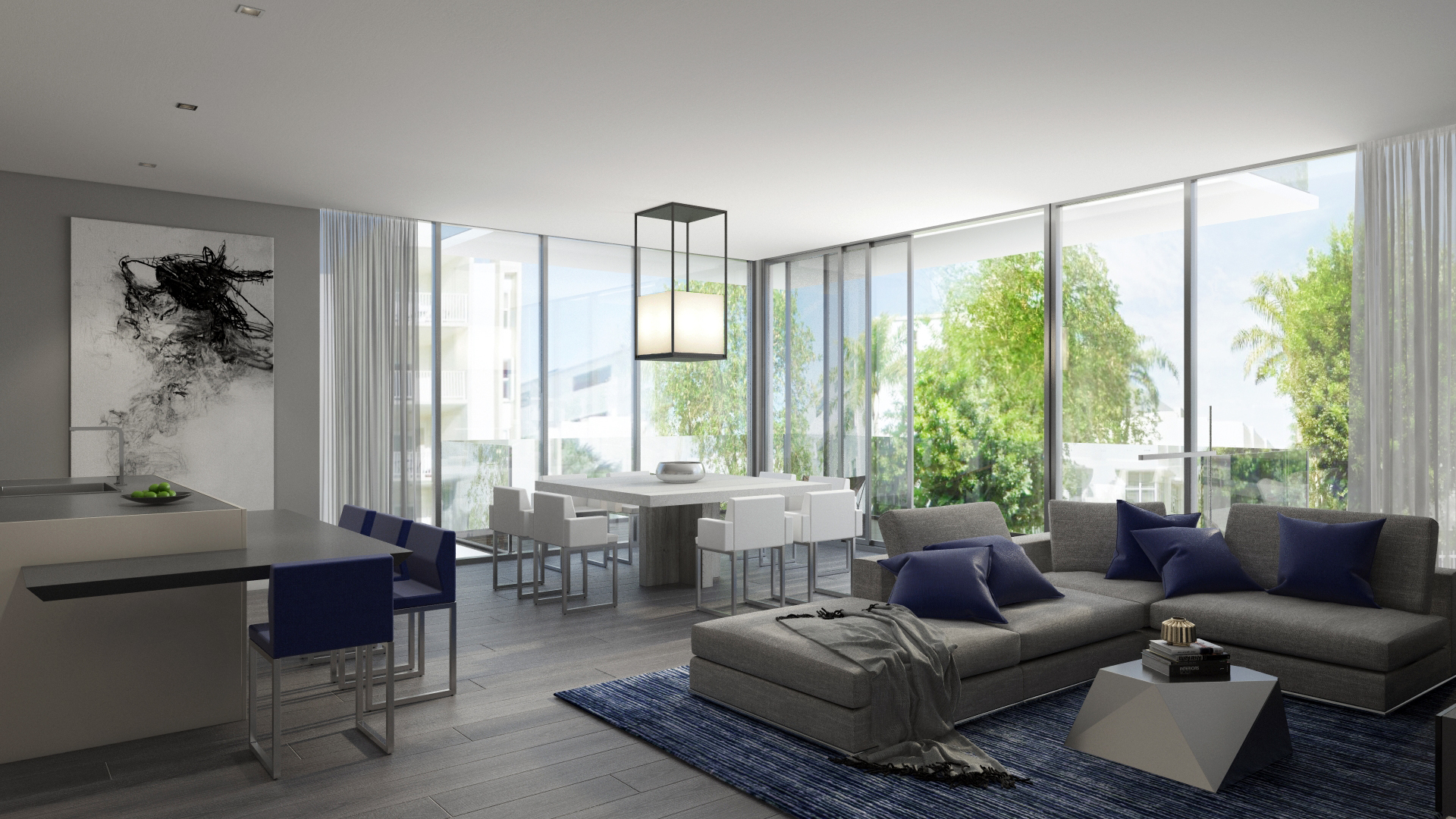 1414 West Miami Beach 3D Render
