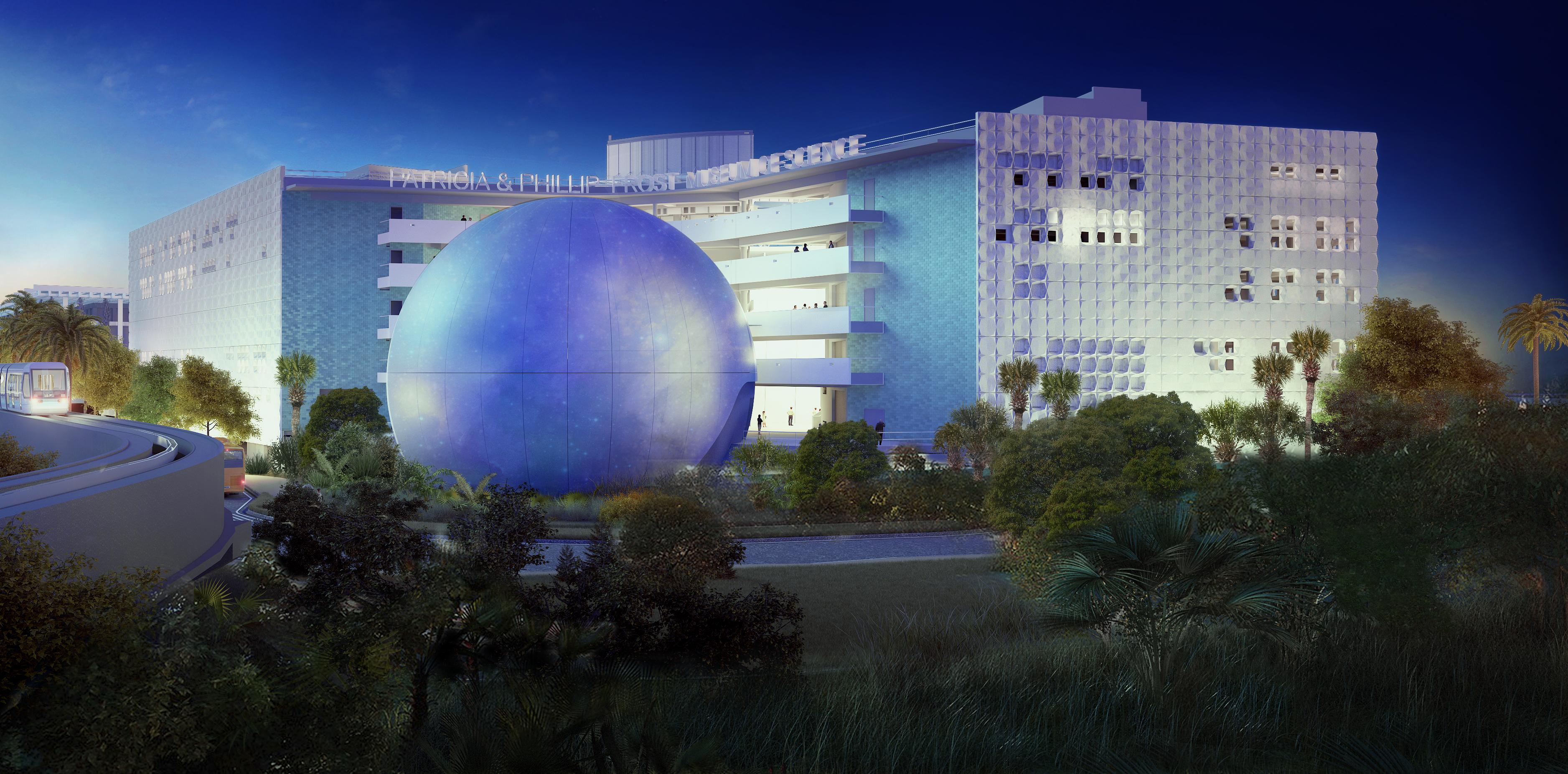 3D Renderings Miami Frost Science
