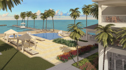 Key Largo Hotel 3D Rendering