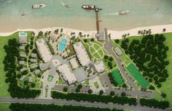 3D Site Plan Rendering Miami