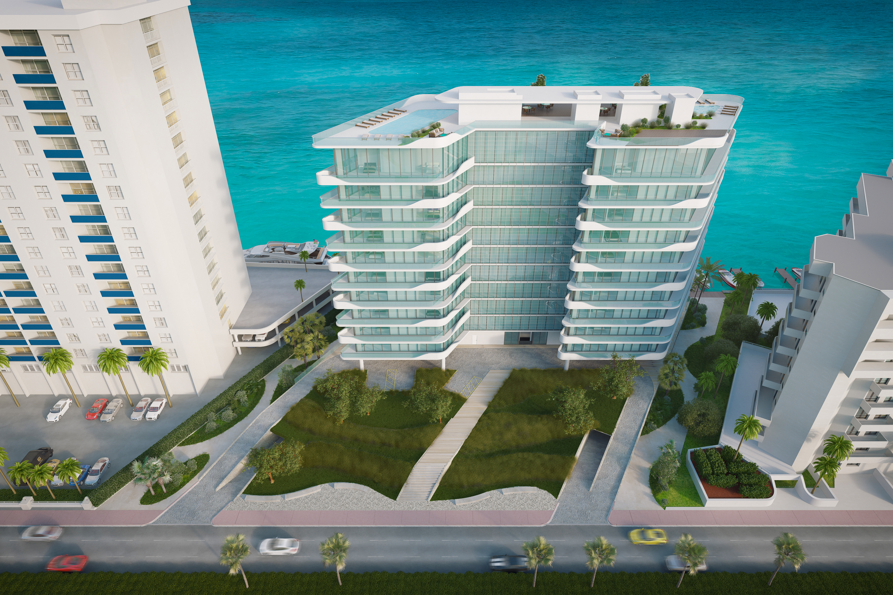Indian Creek Miami 3D Rendering