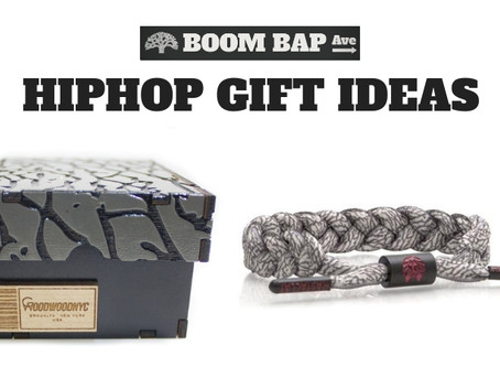 Gift ideas in 2018 for the Hip Hop Head in your life!