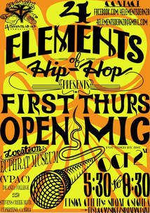 First Thursday Open Mic