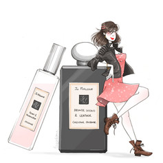 Jo Malone - Rock Chic New Fragrance Combining