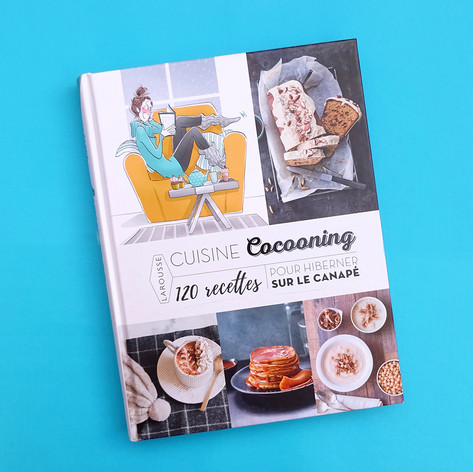 Larousse - Cozy cooking book