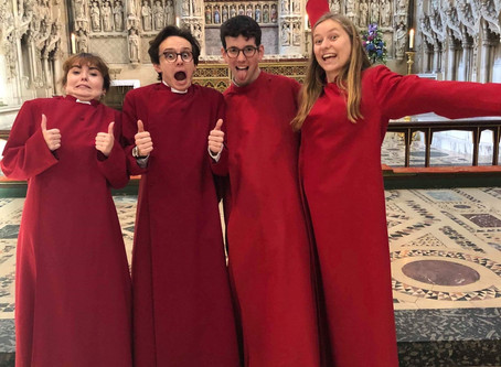 TOUR BLOG DAY 7 - Sunday, 18.08. - The One With The Last Evensong