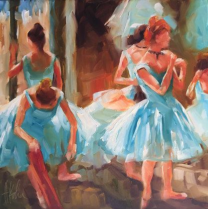 Degas Inspired Dancers