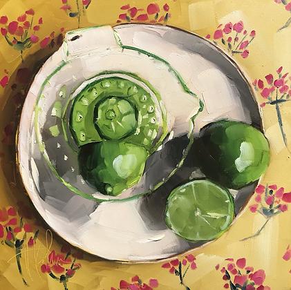 Limes & Juicer