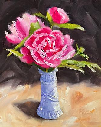 Peonies in Vase