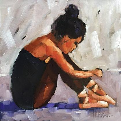 Dancer Sitting