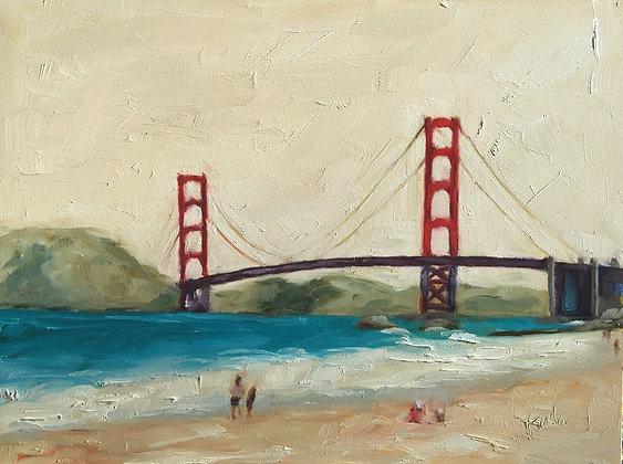 Red: Bridge, Wine, & Shins