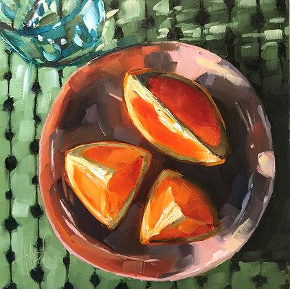 Glowing Orange