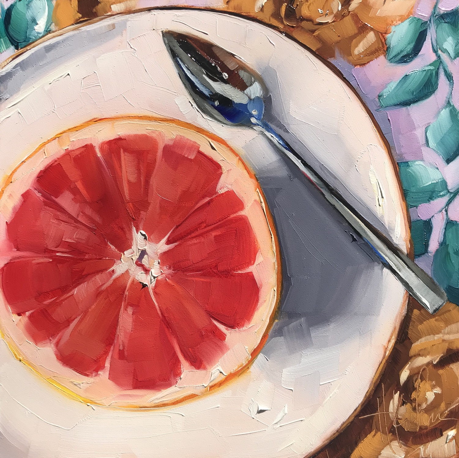 Grapefruit Still-Life