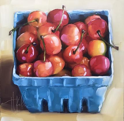 Juicy Mt. Rainier Cherries