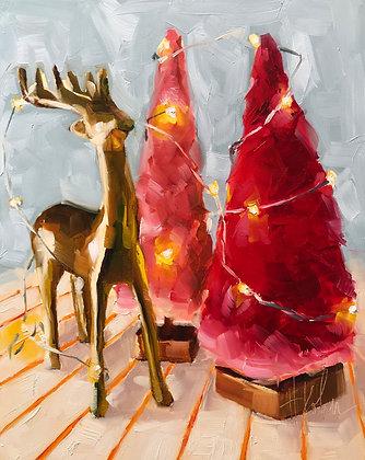 Christmas Cheer & Holiday Deer