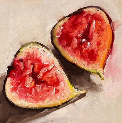 Sliced Fig