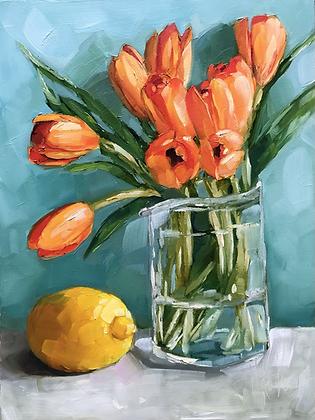 Tulips & Lemon