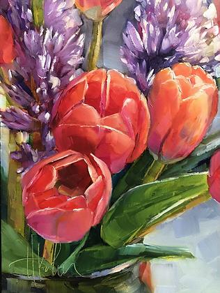 Tulips & Hyacinth