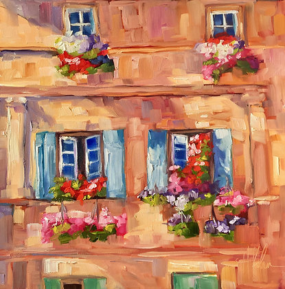 Windows of Arles