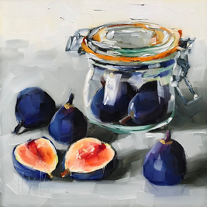 Jar with Figs
