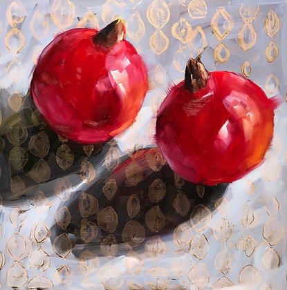 Pomegranates, Golden Dots